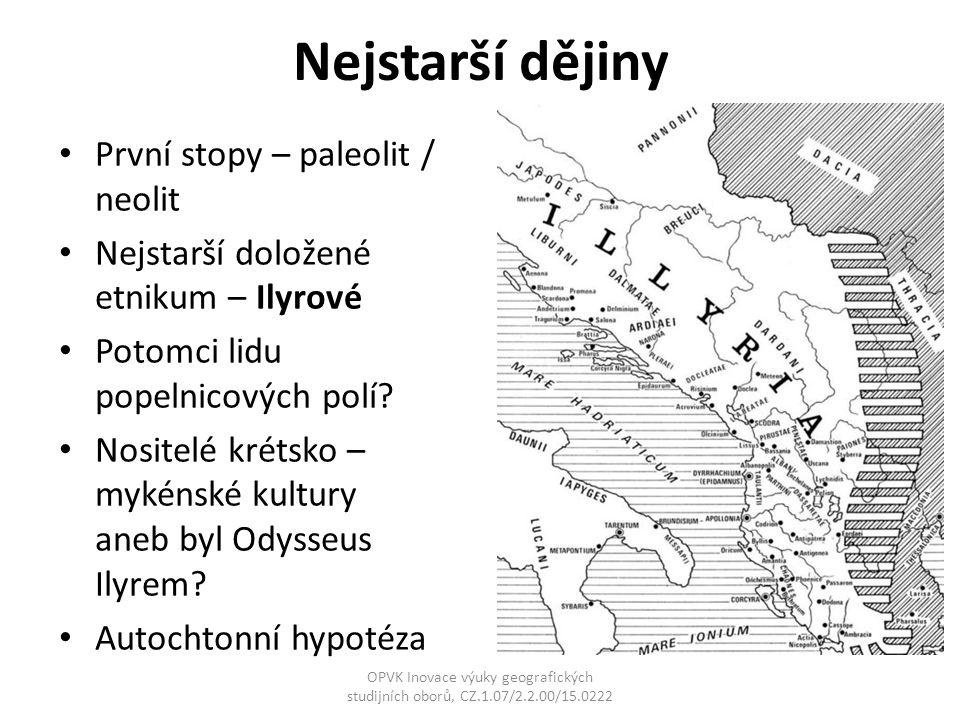 Nejstarší dějiny První stopy – paleolit / neolit