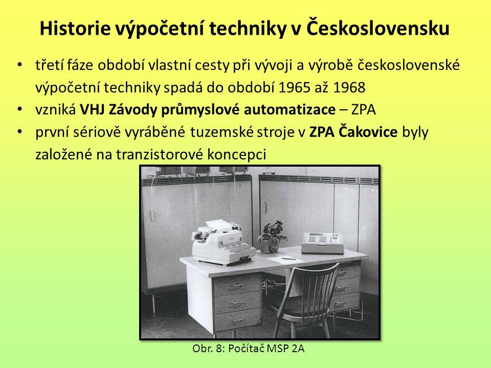 Historie výpočetní techniky v Československu