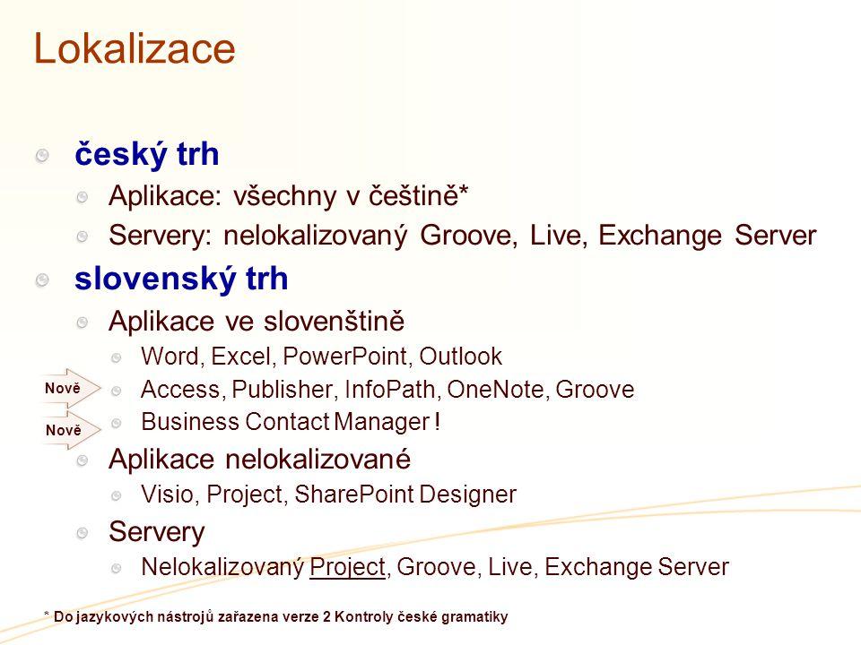 * Do jazykových nástrojů zařazena verze 2 Kontroly české gramatiky