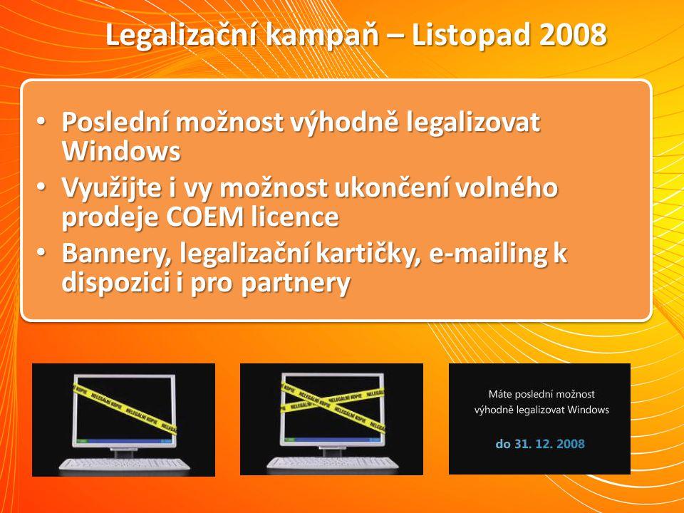 Legalizační kampaň – Listopad 2008