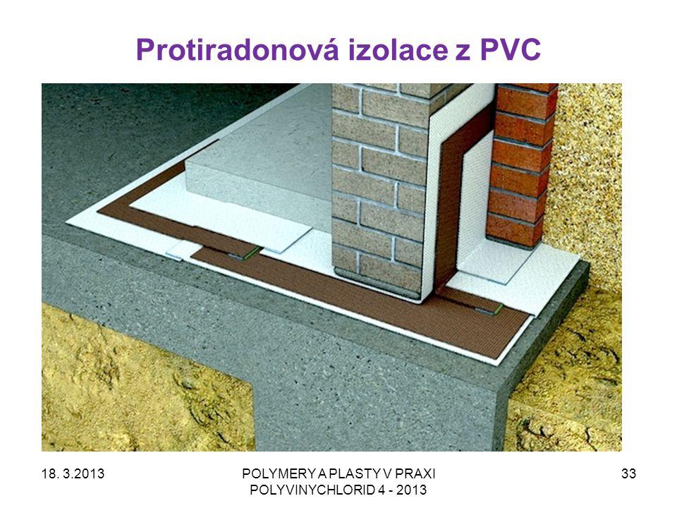 Protiradonová izolace z PVC
