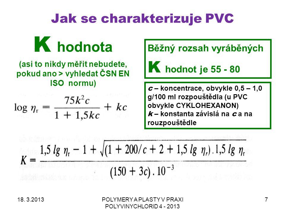 Jak se charakterizuje PVC