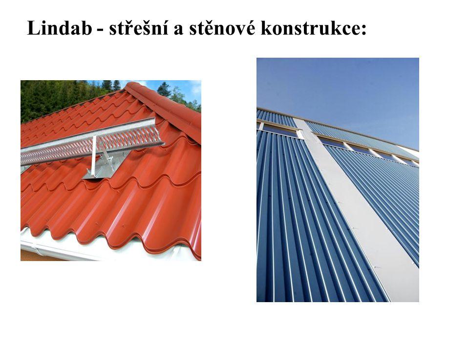 Lindab - střešní a stěnové konstrukce: