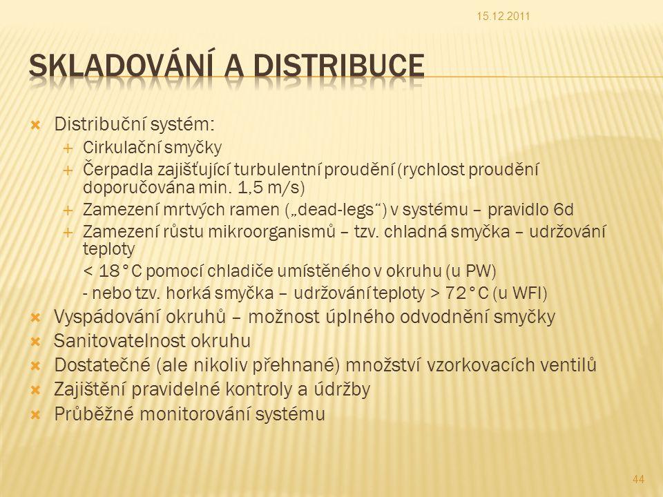 Skladování a distribuce