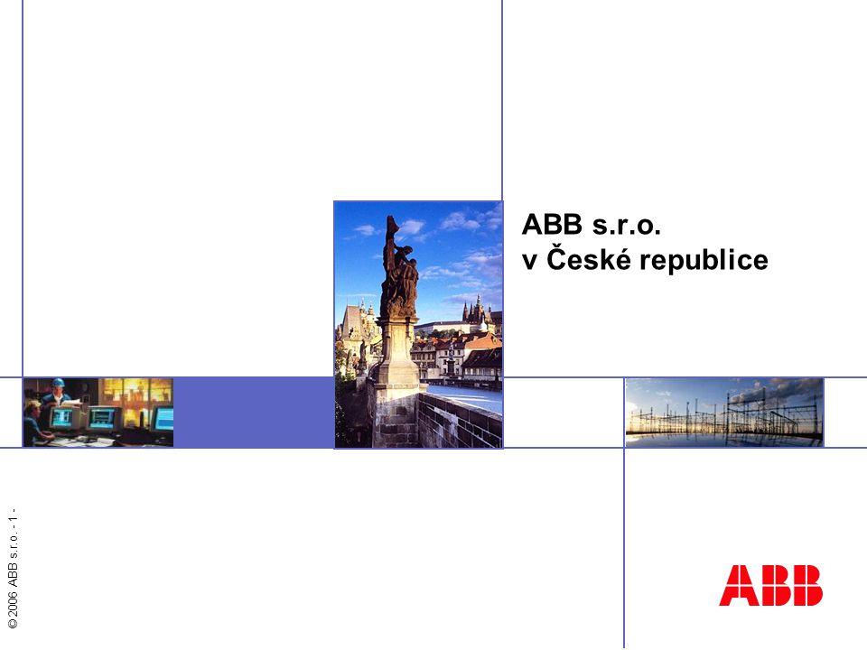 ABB s.r.o. v České republice