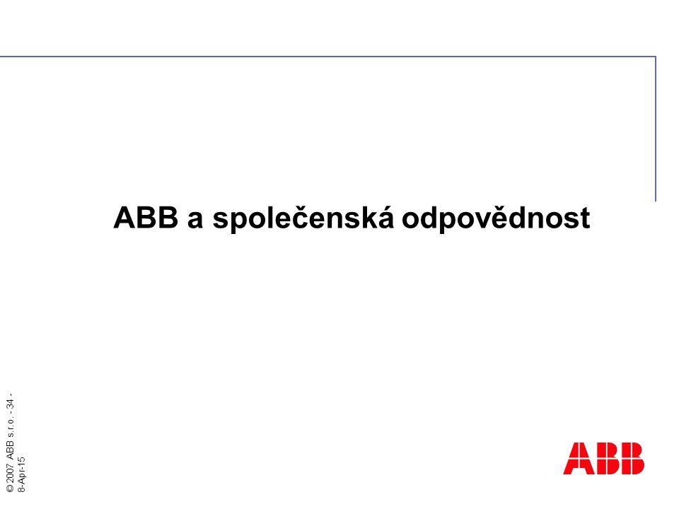 ABB a společenská odpovědnost