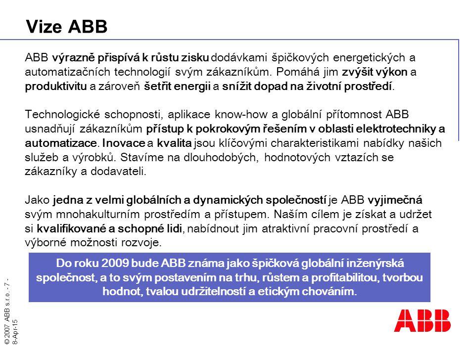 Vize ABB