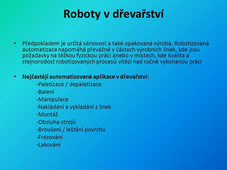 Roboty v dřevařství