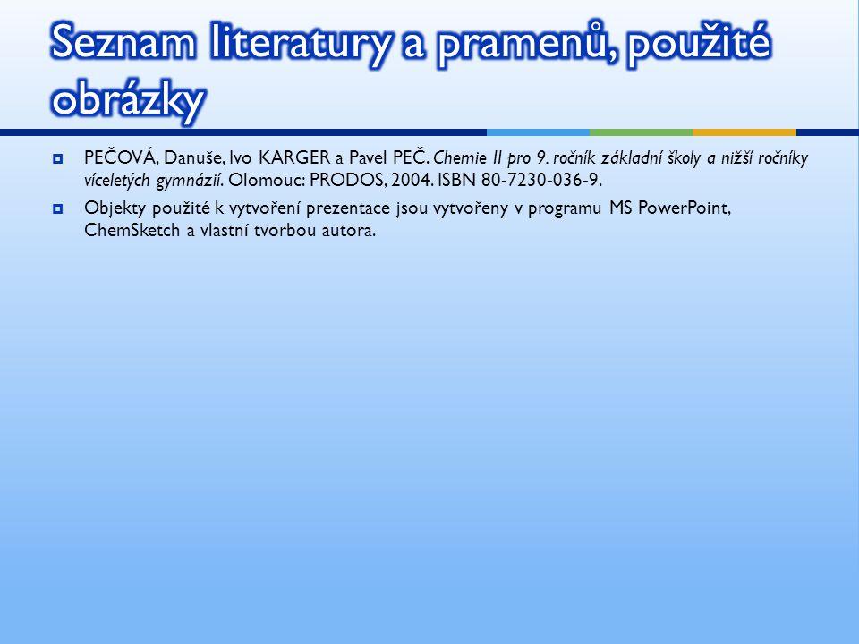 Seznam literatury a pramenů, použité obrázky