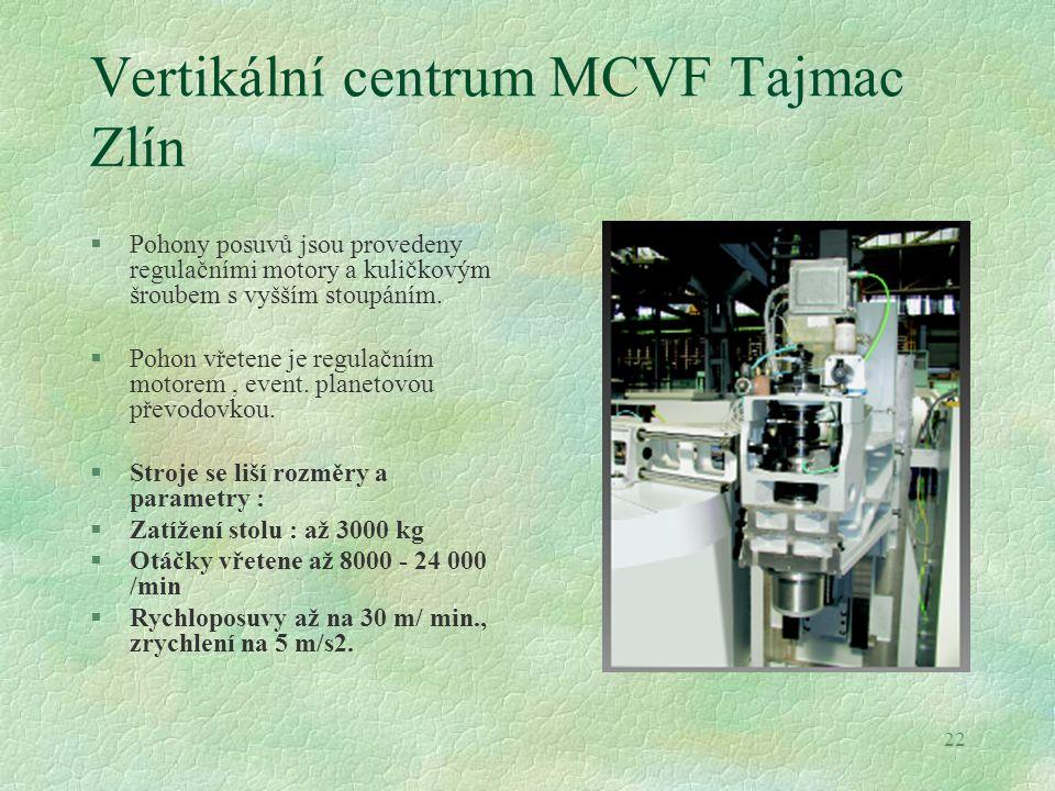 Vertikální centrum MCVF Tajmac Zlín