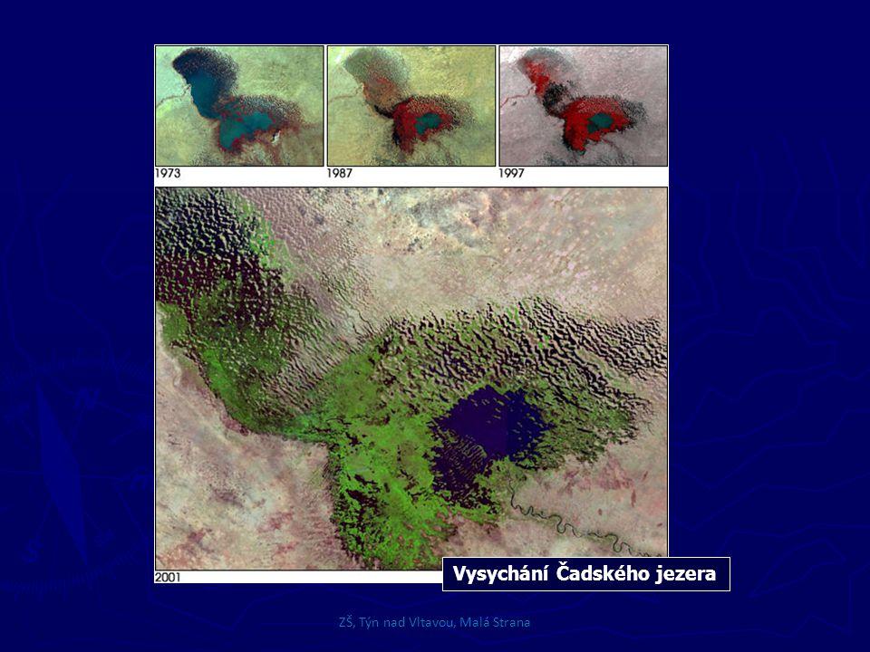 Vysychání Čadského jezera