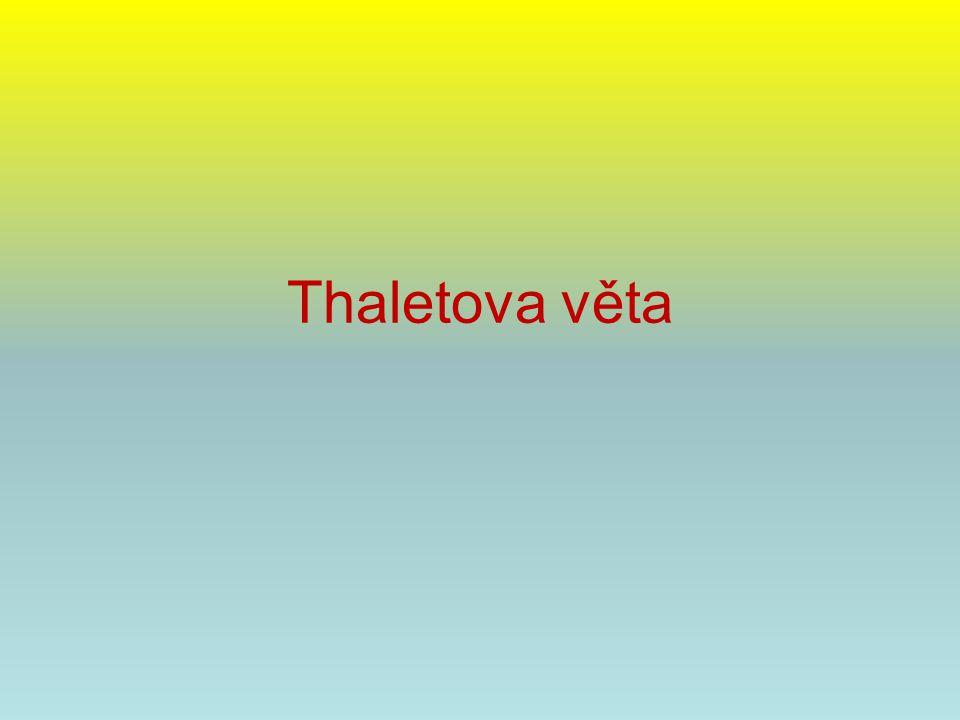 Thaletova věta