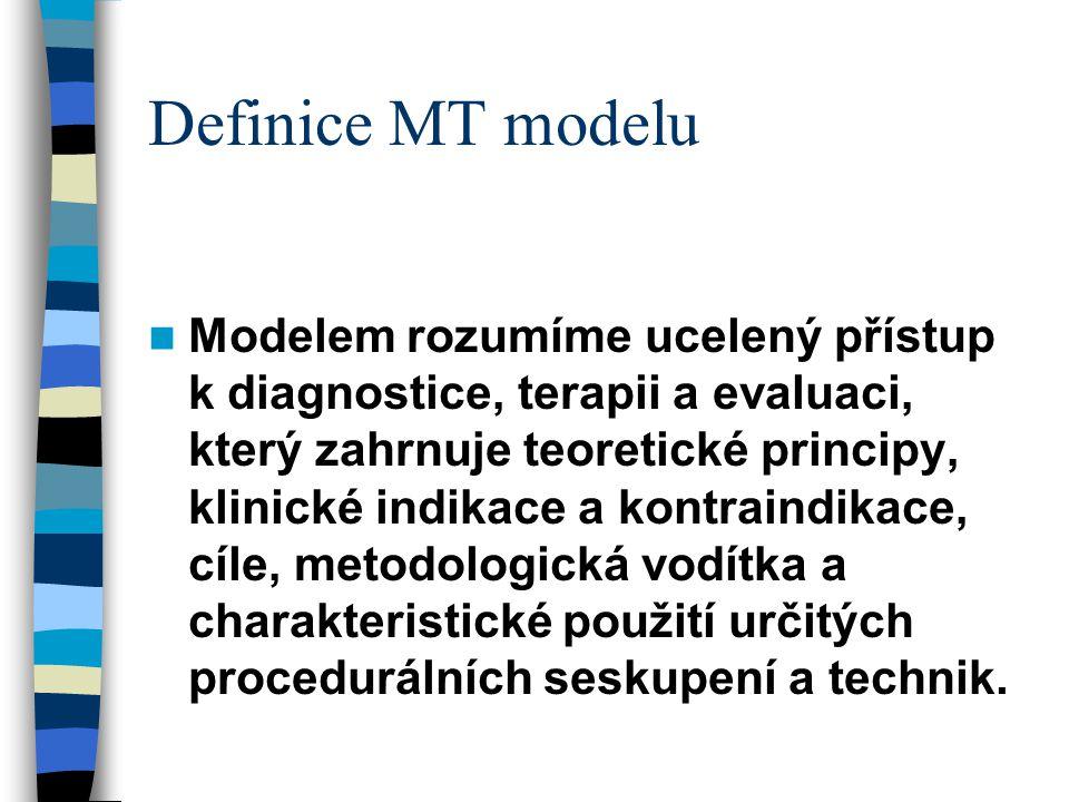 Definice MT modelu