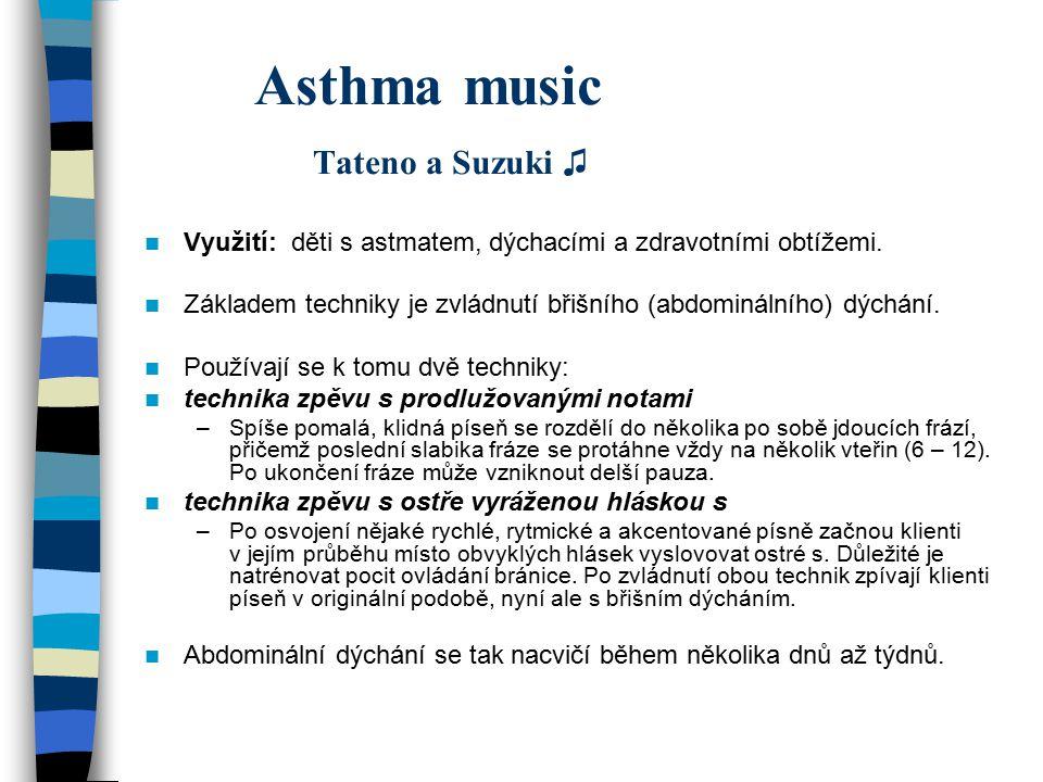 Asthma music Tateno a Suzuki ♫