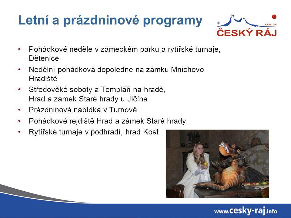 Letní a prázdninové programy