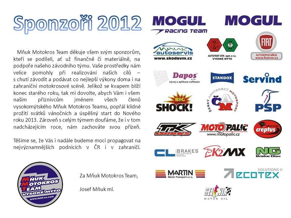 Sponzoři 2012