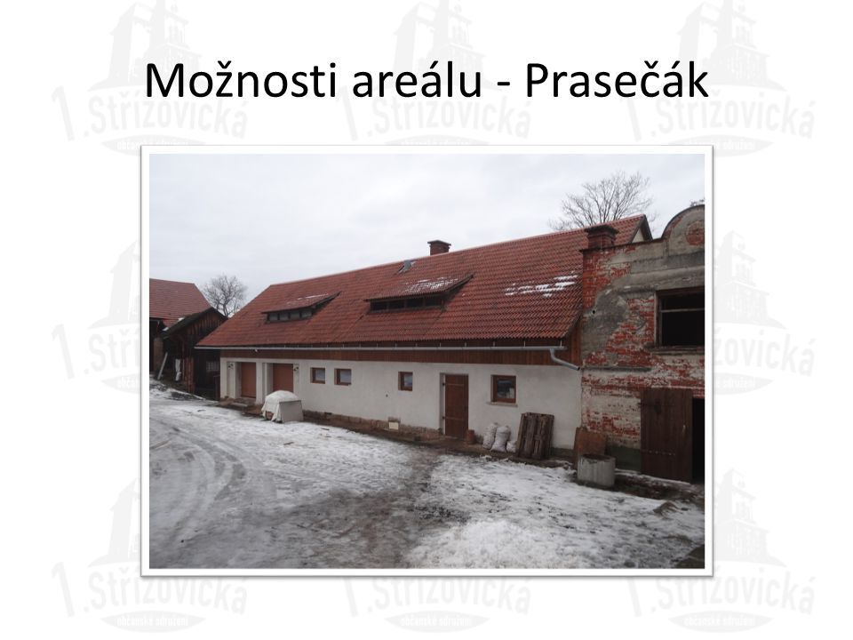 Možnosti areálu - Prasečák
