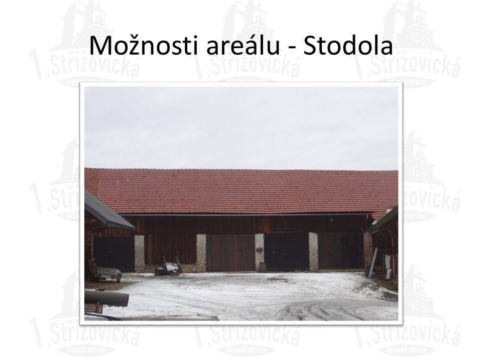 Možnosti areálu - Stodola