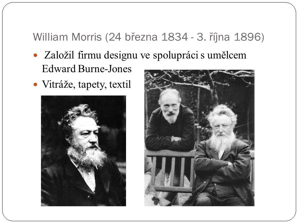 William Morris (24 března 1834 - 3. října 1896)