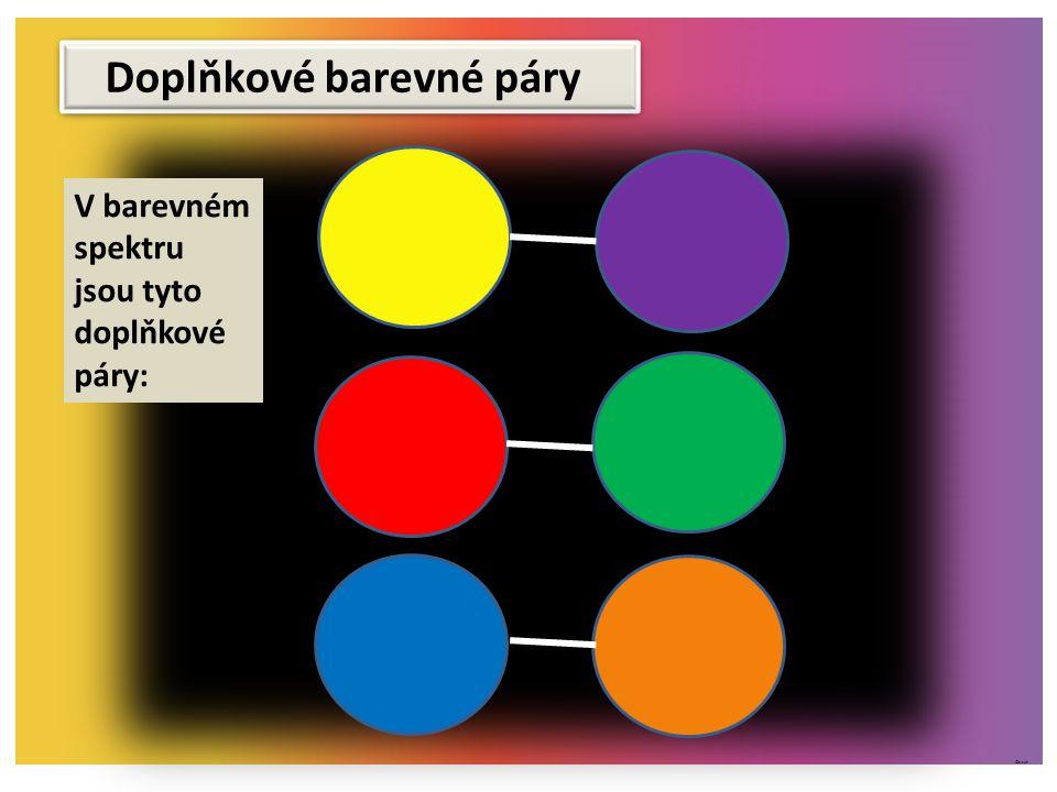 Doplňkové barevné páry
