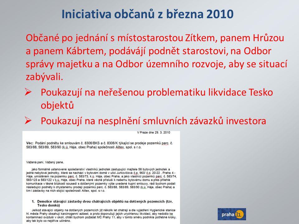 Iniciativa občanů z března 2010