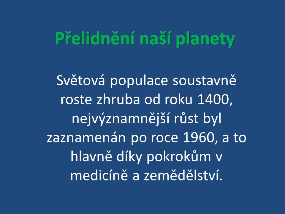 Přelidnění naší planety