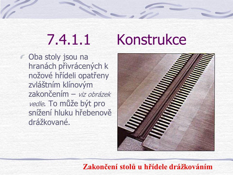 7.4.1.1 Konstrukce