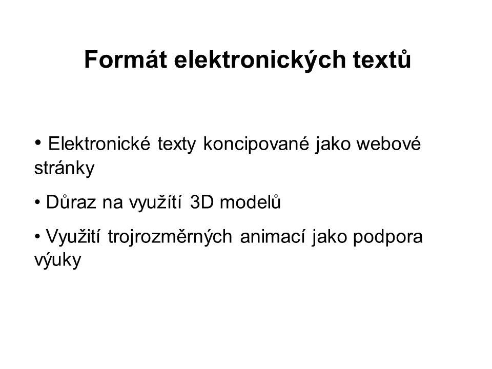 Formát elektronických textů