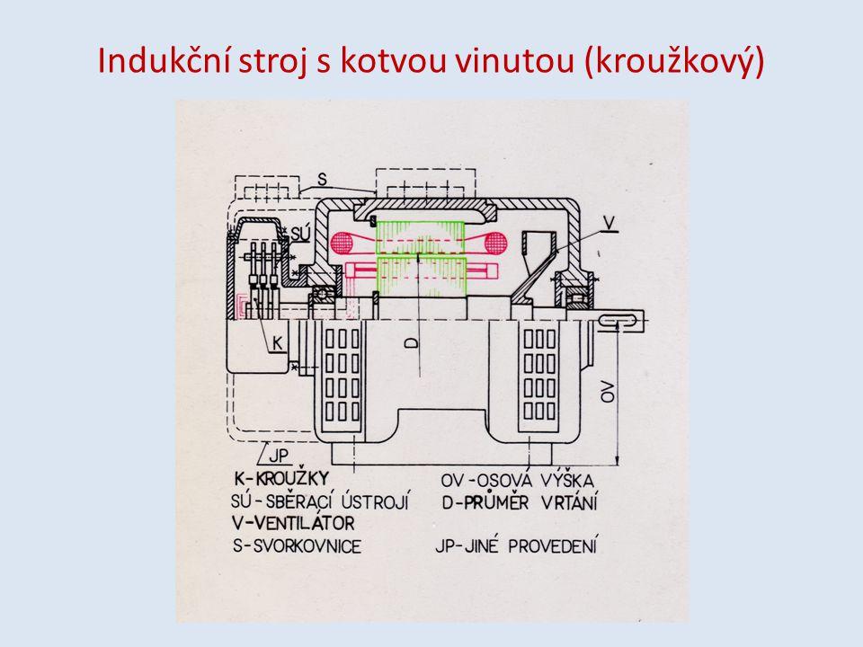 Indukční stroj s kotvou vinutou (kroužkový)