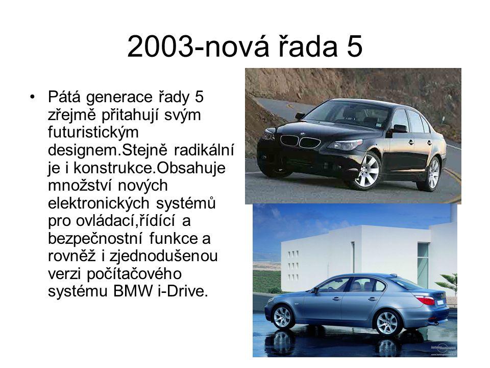 2003-nová řada 5