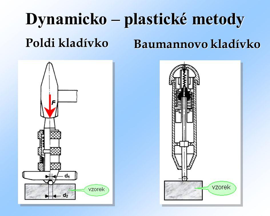 Dynamicko – plastické metody