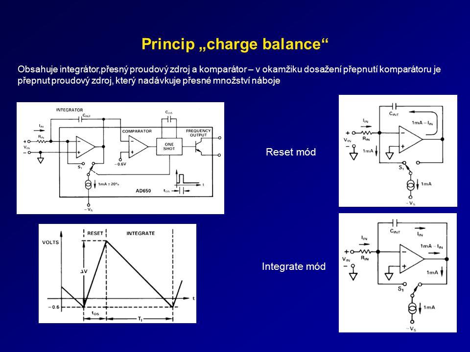 """Princip """"charge balance"""