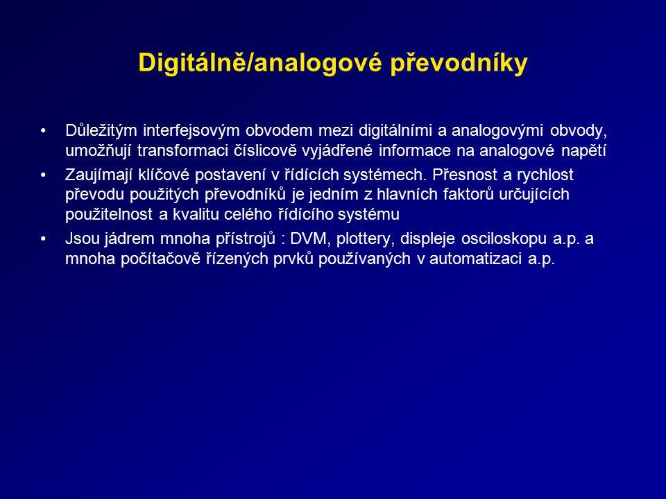 Digitálně/analogové převodníky