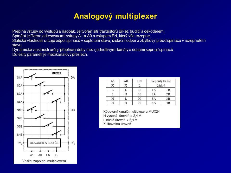 Analogový multiplexer