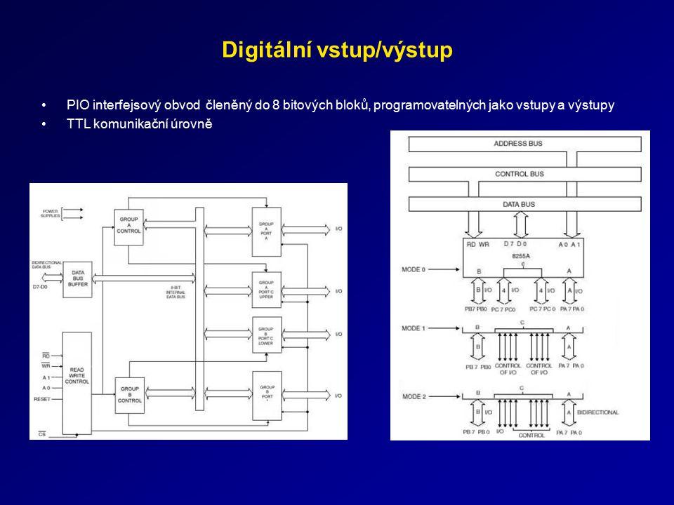 Digitální vstup/výstup