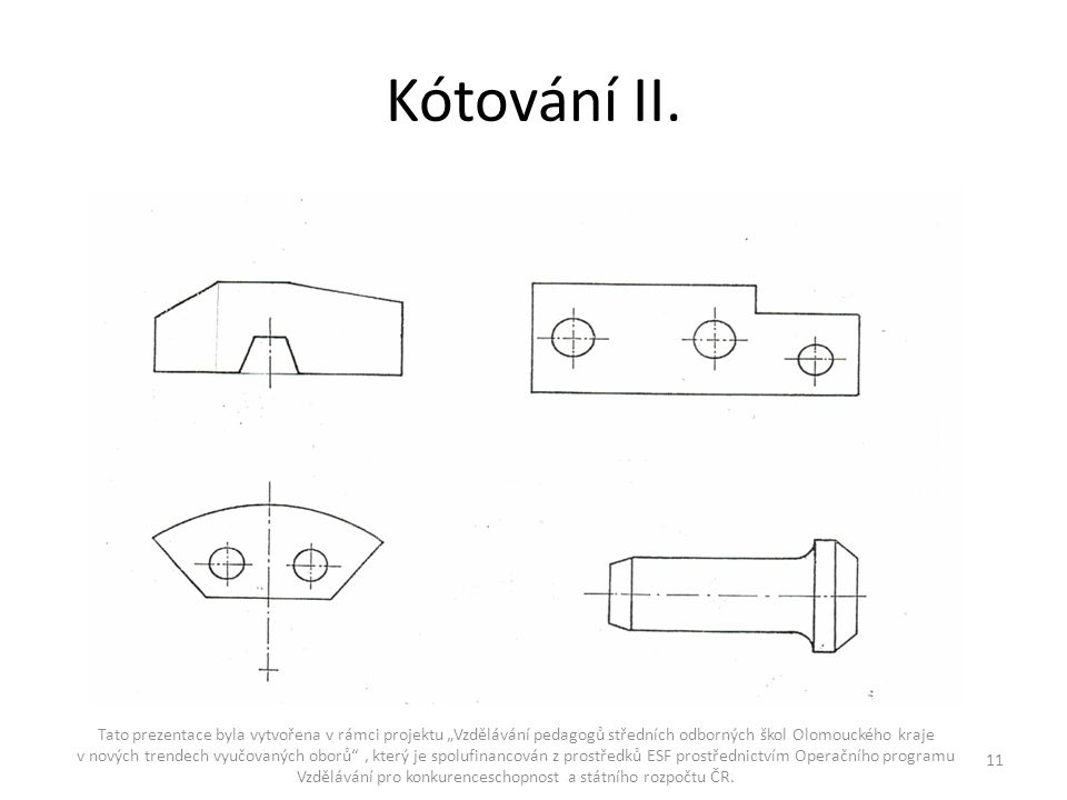 Kótování II.