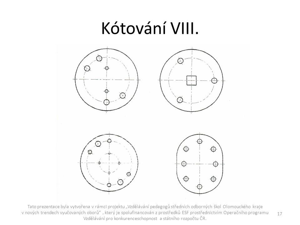 Kótování VIII.