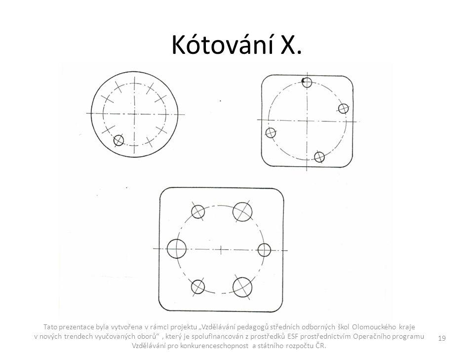 Kótování X.