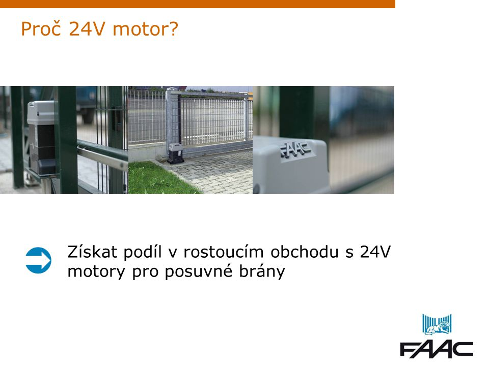 Proč 24V motor  Získat podíl v rostoucím obchodu s 24V motory pro posuvné brány 3