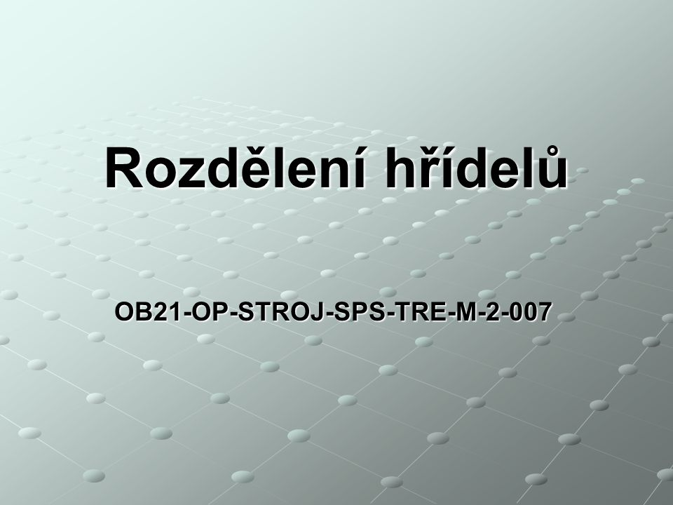 OB21-OP-STROJ-SPS-TRE-M-2-007