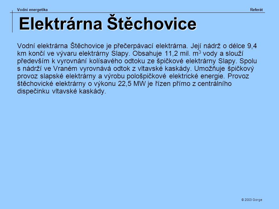 Elektrárna Štěchovice