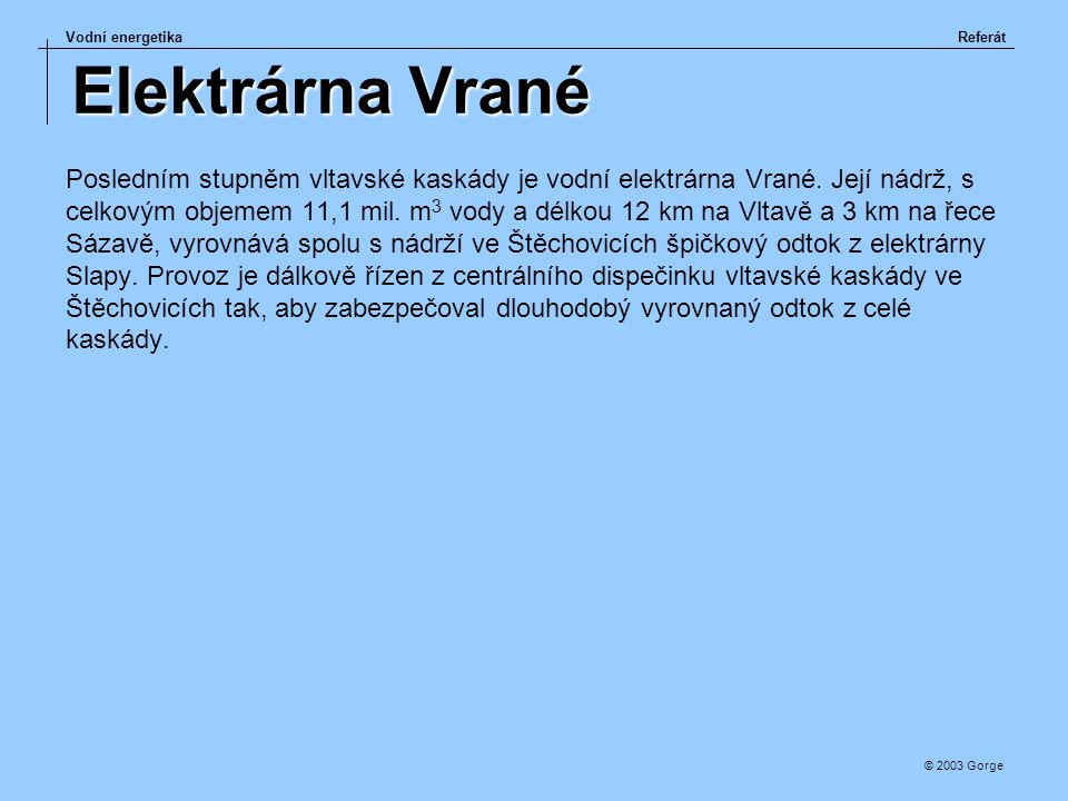 Elektrárna Vrané