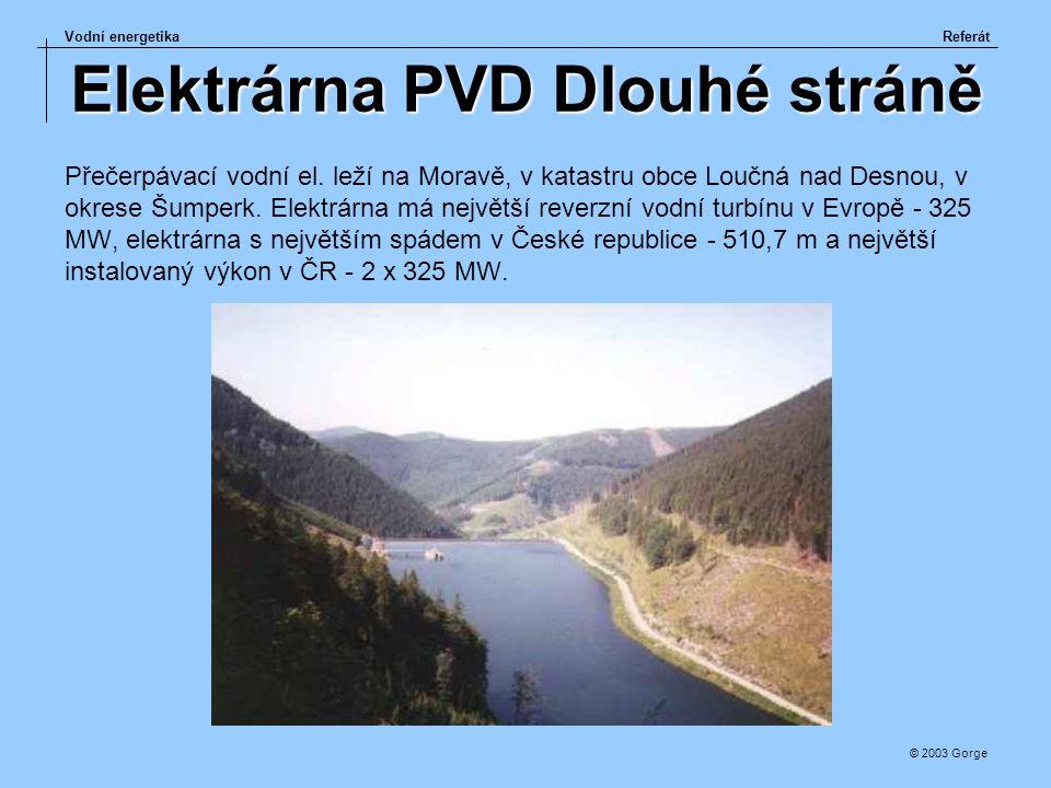 Elektrárna PVD Dlouhé stráně