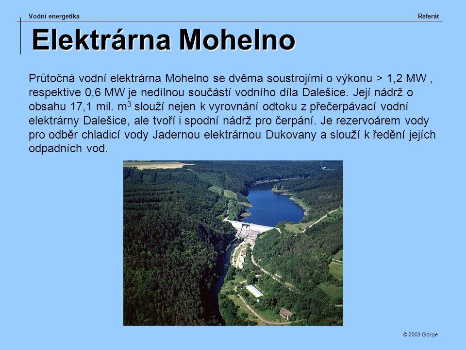 Elektrárna Mohelno