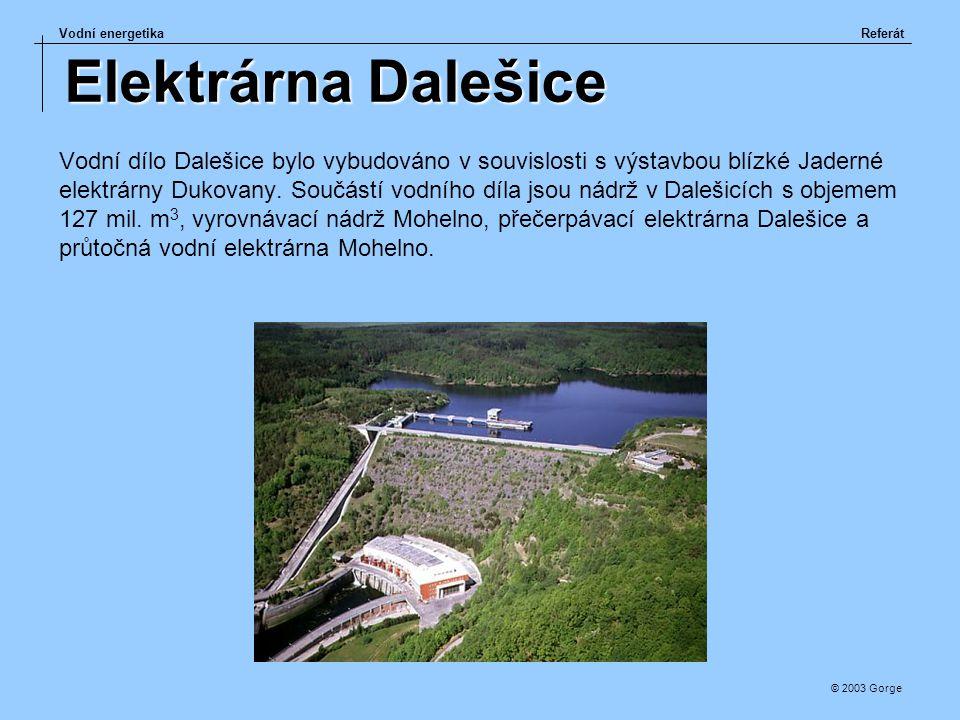 Elektrárna Dalešice