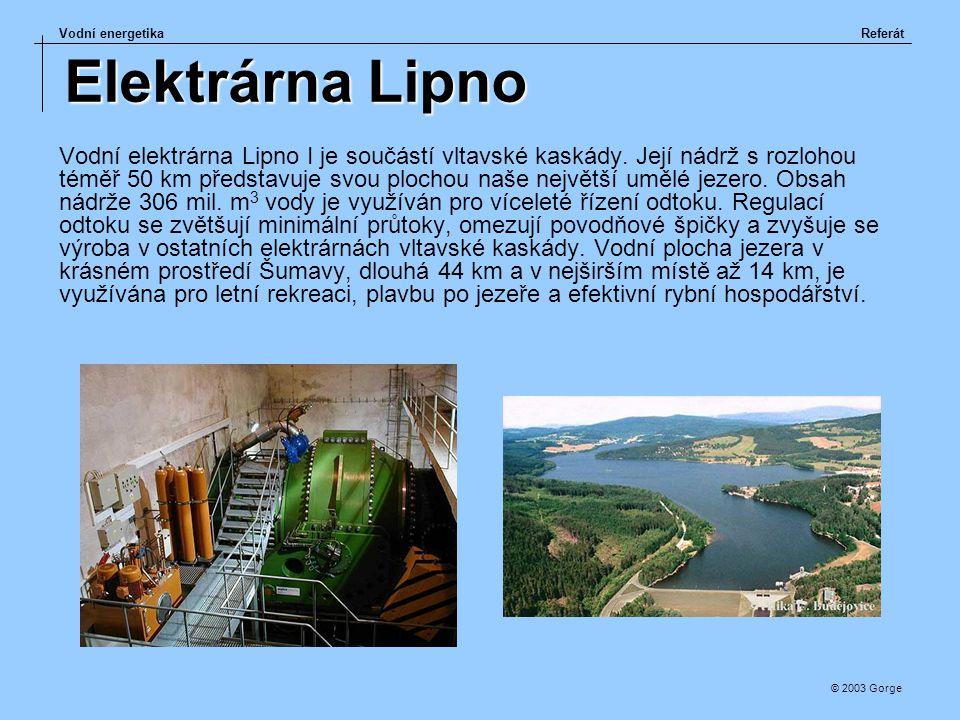 Elektrárna Lipno
