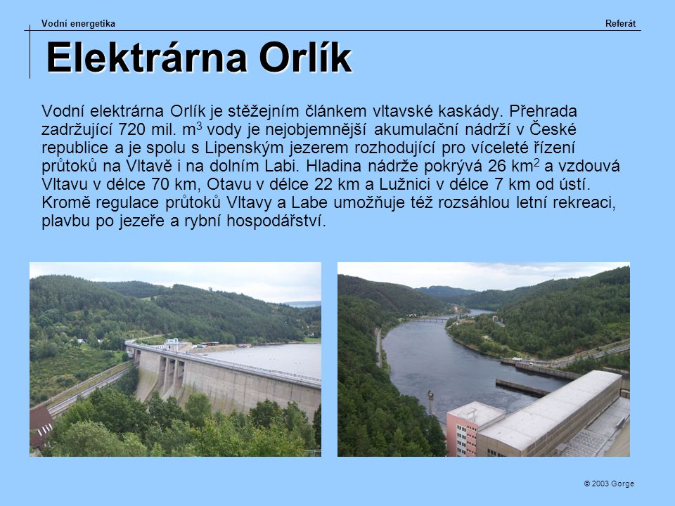 Elektrárna Orlík
