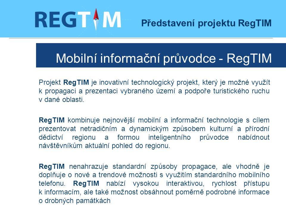 Mobilní informační průvodce - RegTIM