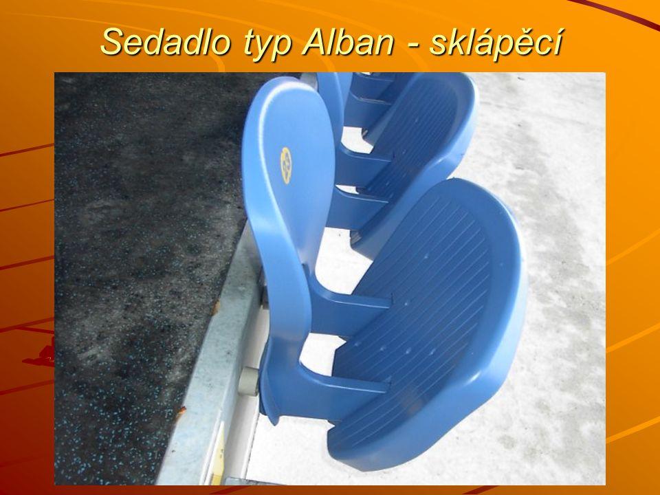 Sedadlo typ Alban - sklápěcí