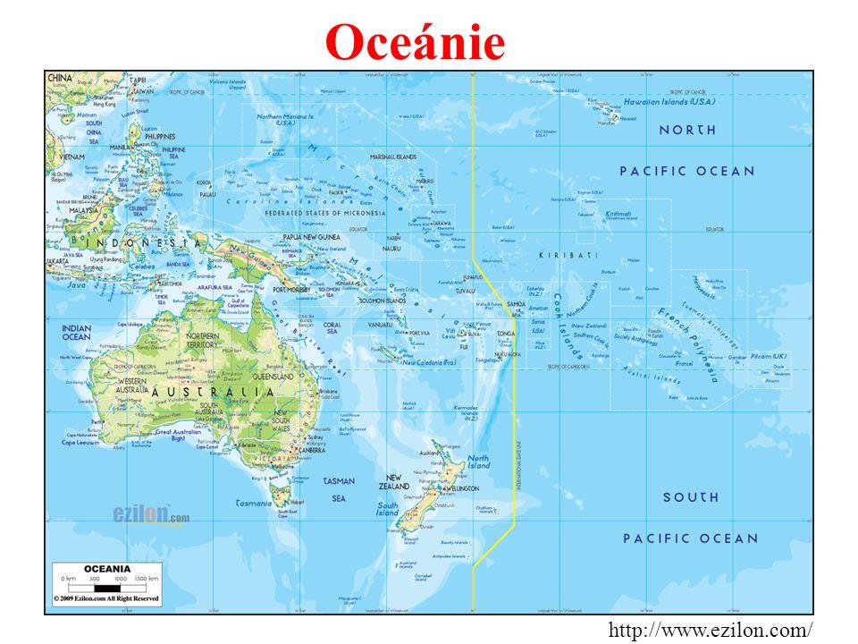 Oceánie http://www.ezilon.com/
